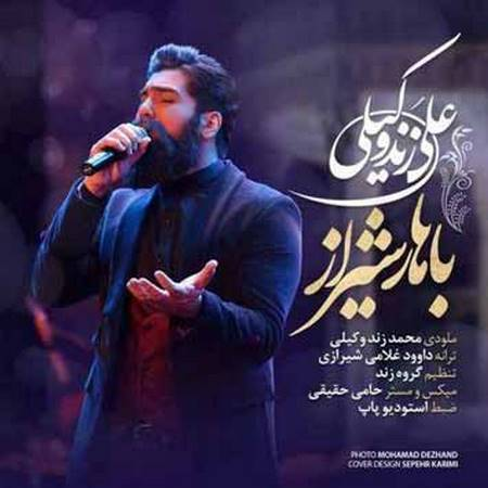 دانلود آهنگ جدید علی زندوکیلی بنام بهار شیراز