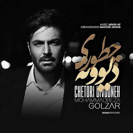 دانلود موزیک ویدیو محمدرضا گلزار بنام چطوری دیوونه